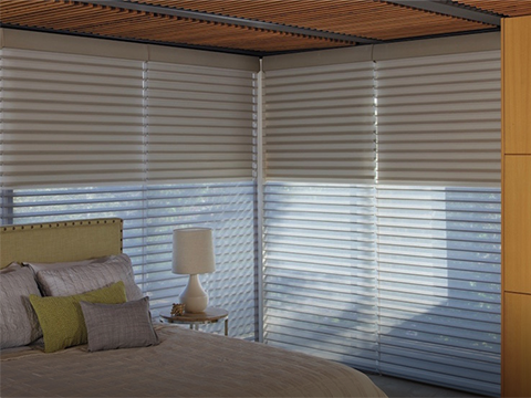 Motorized Nantucket®<br> Window Shadings