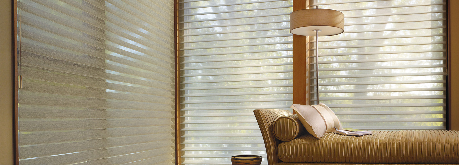 Hunter Douglas The Alustra® Collection of Silhouette® shadings