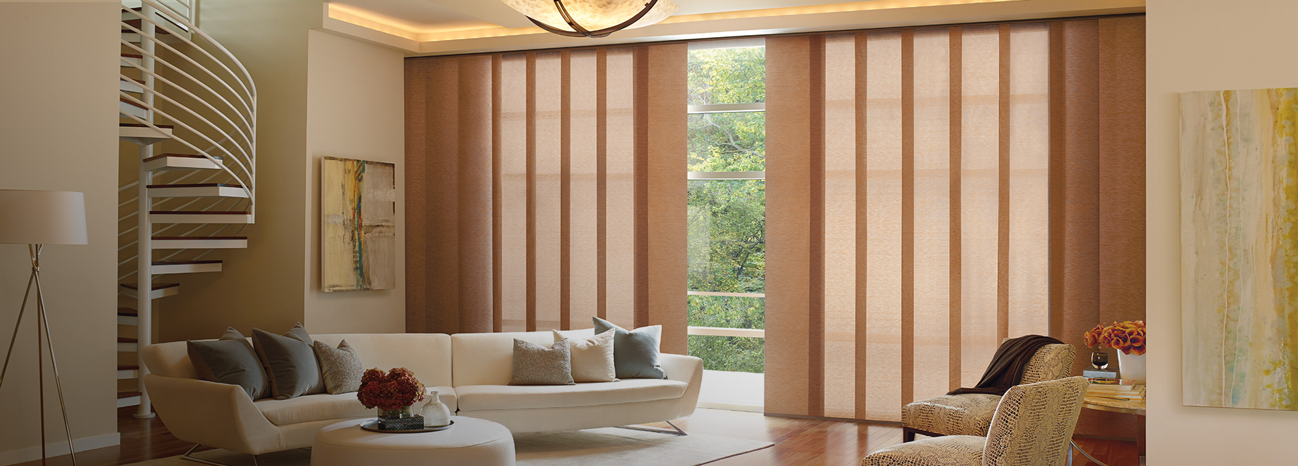 Today S Window Fashions Hunter Douglas Skyline Gliding