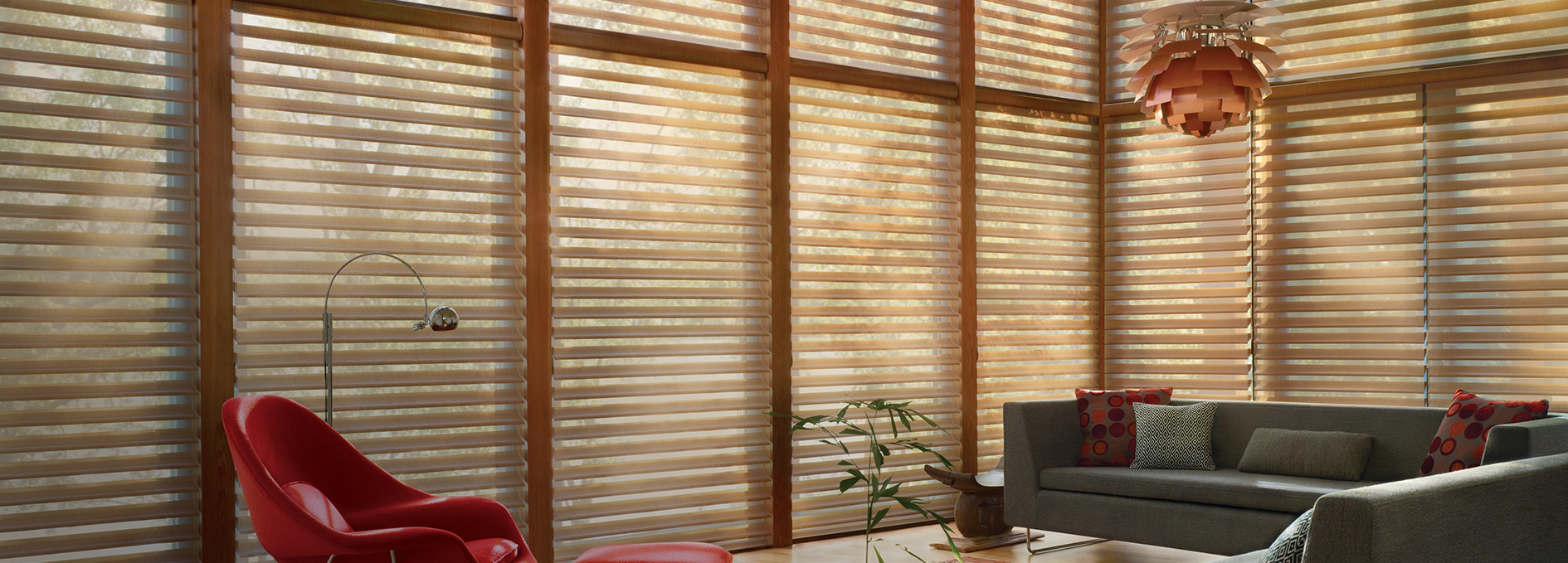 Window treatments bay windows corner windows bow for Window design solutions