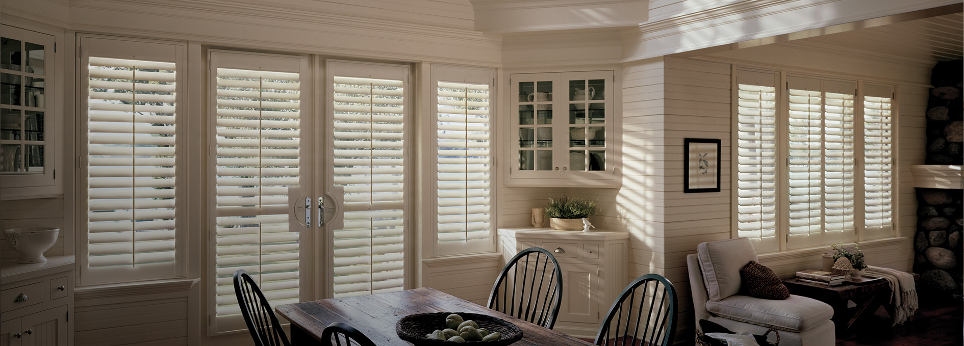 French doors window treatments for patio doors today 39 s for Window design solutions