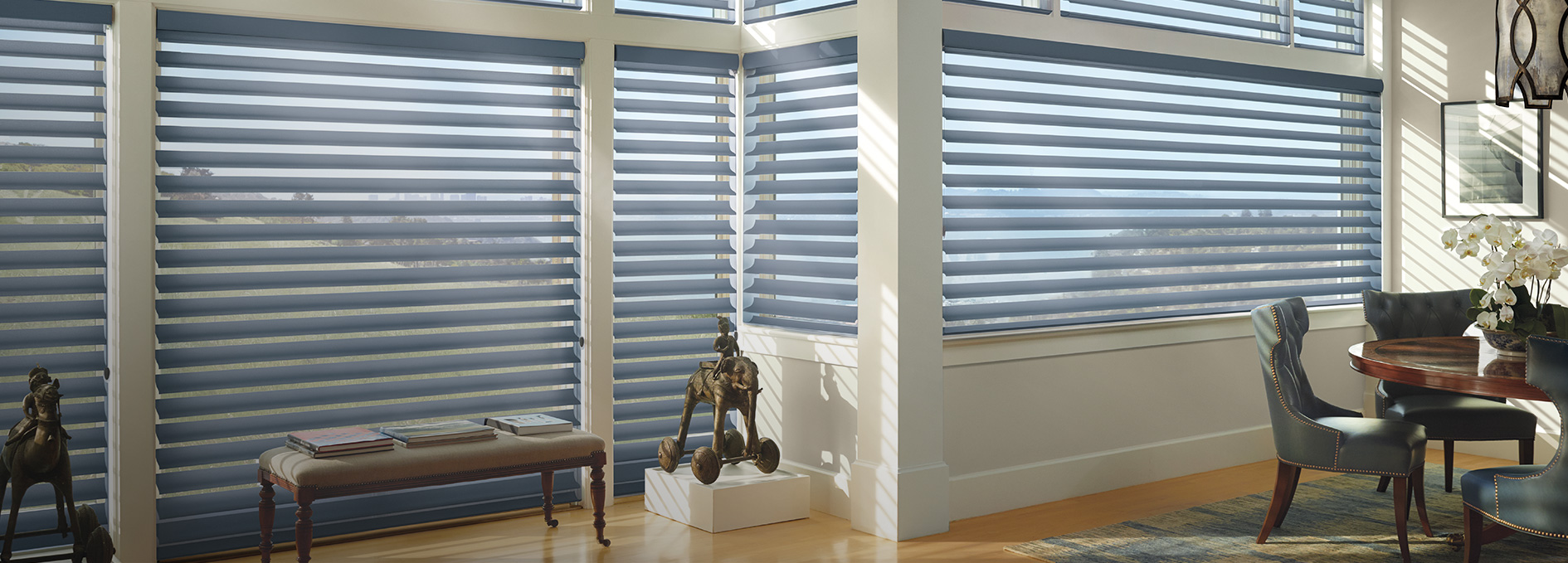 Light filtering and uv protection window treatments for Window design solutions