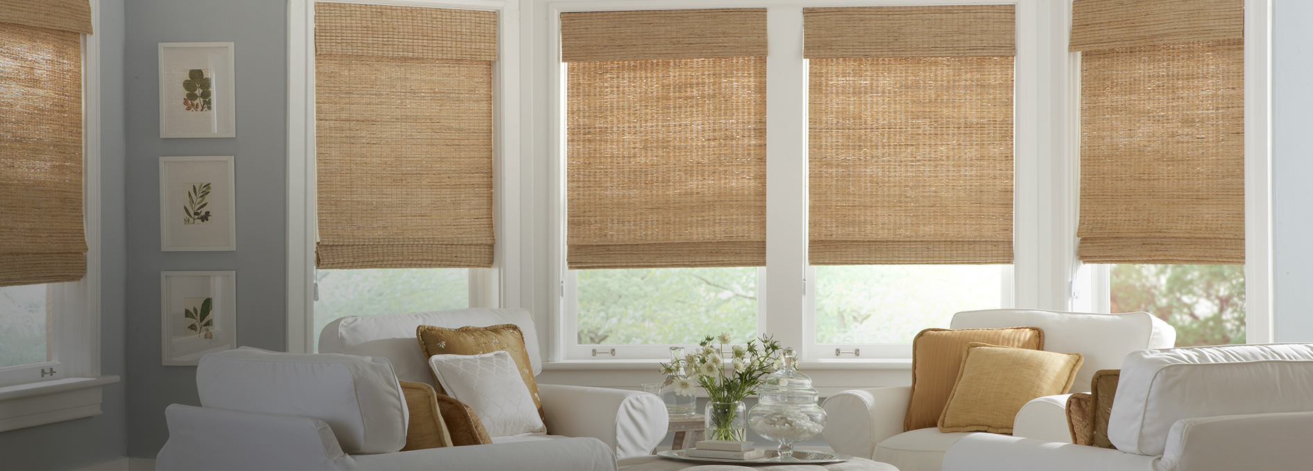 Today S Window Fashions Horizons Natural Woven Classic Roman Shades