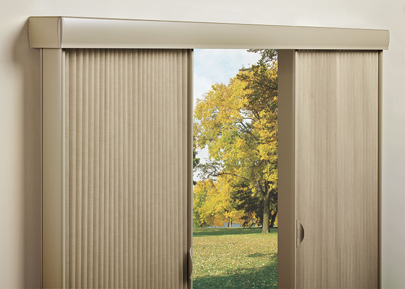 Both are ideal choices for side-to-side openings sliding glass doors or as room iders. & Hunter Douglas | Vertiglide Operating System | Today\u0027s Window ...
