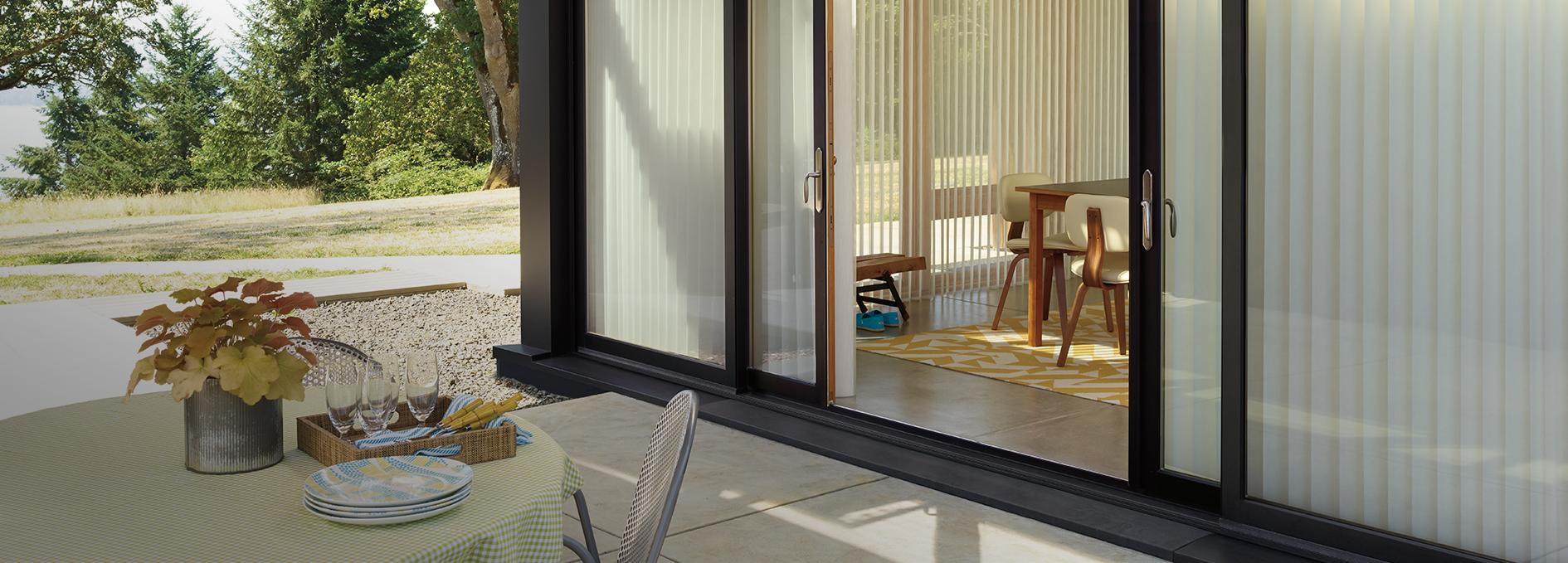 Today S Window Fashions Sunrooms Patio Doors