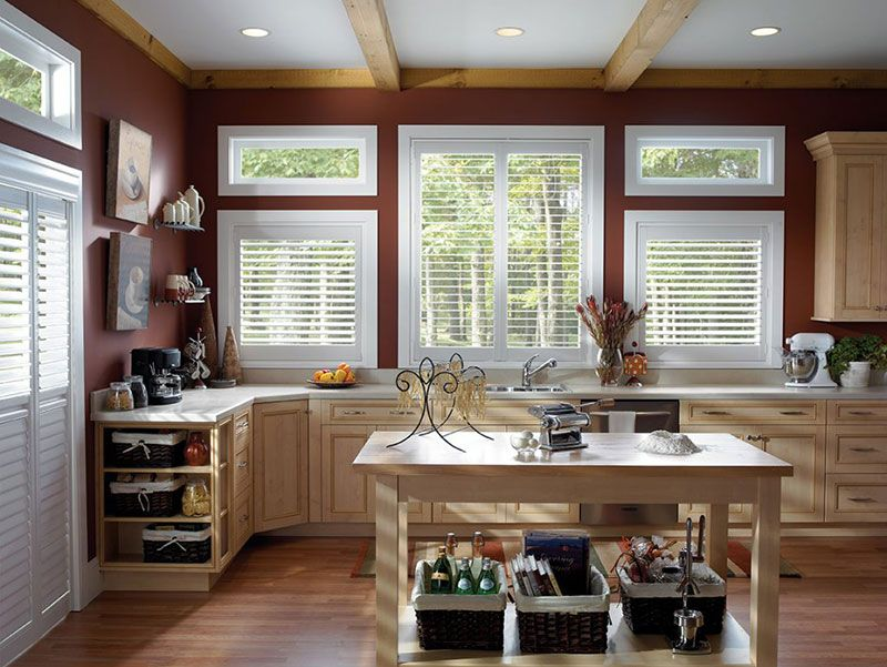 Kitchen window coverings | kitchen window treatments | Today\'s ...