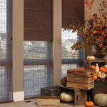 Woven Woods Shades_Fall Theme